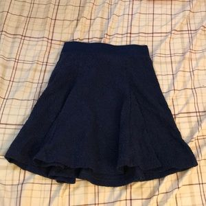 Candie's mini skirt, navy blue color.